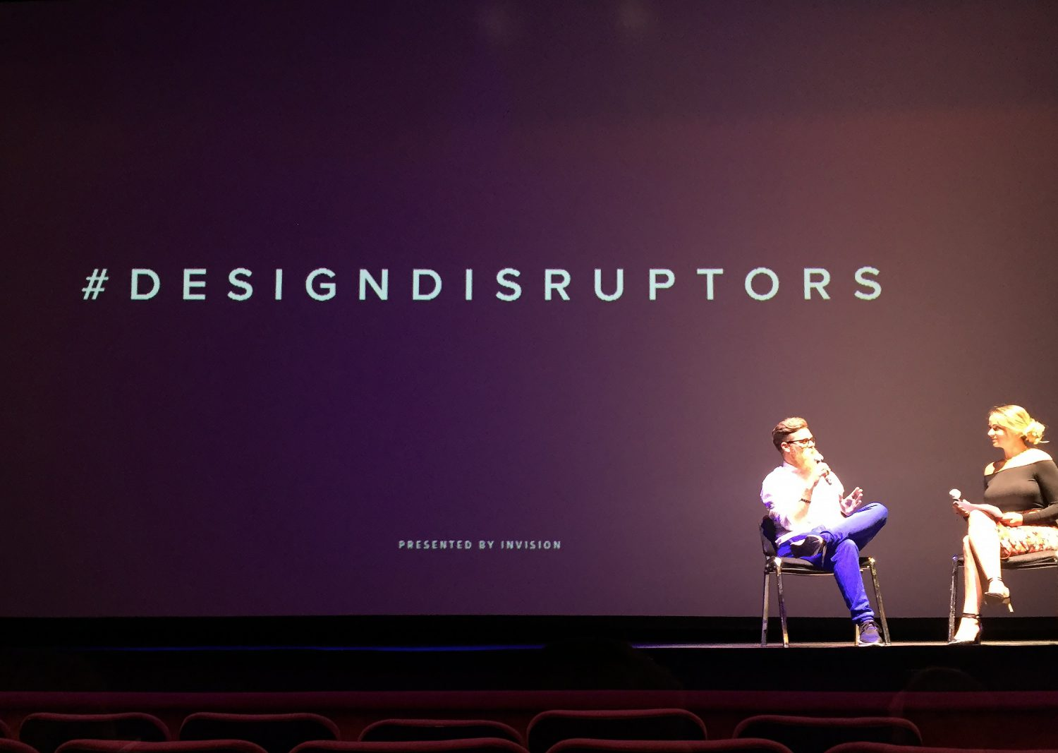 design-disruptors-event-stage