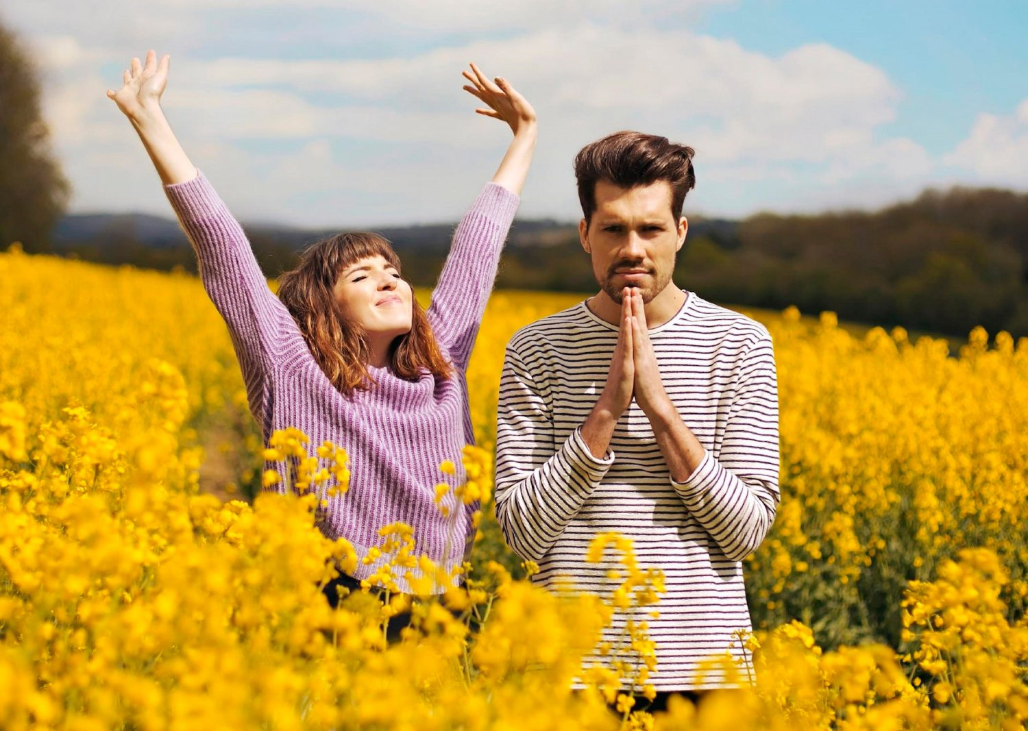 man-and-woman-in-yellow-flowers