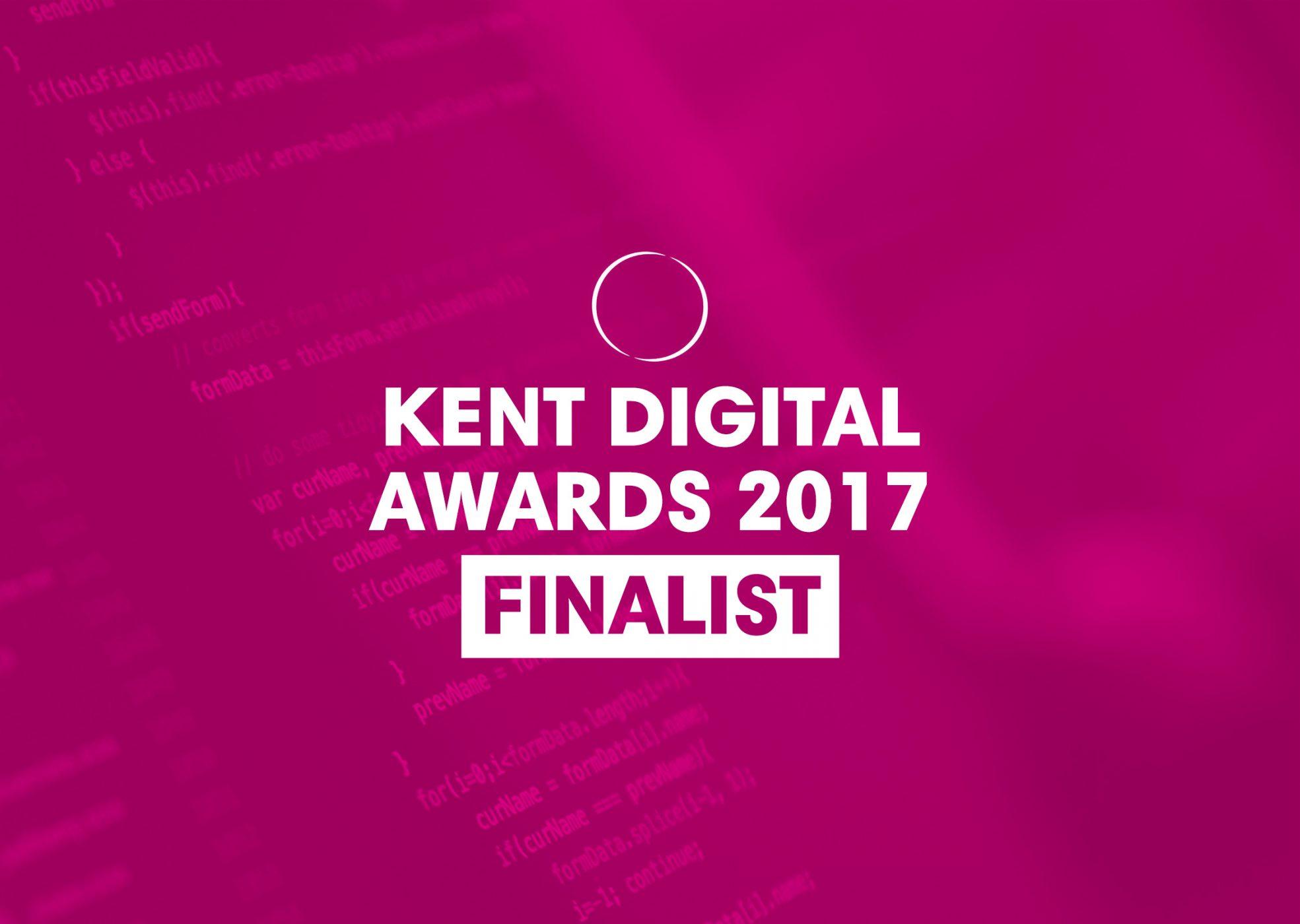 Kent Digital Awards 2017 Finalist