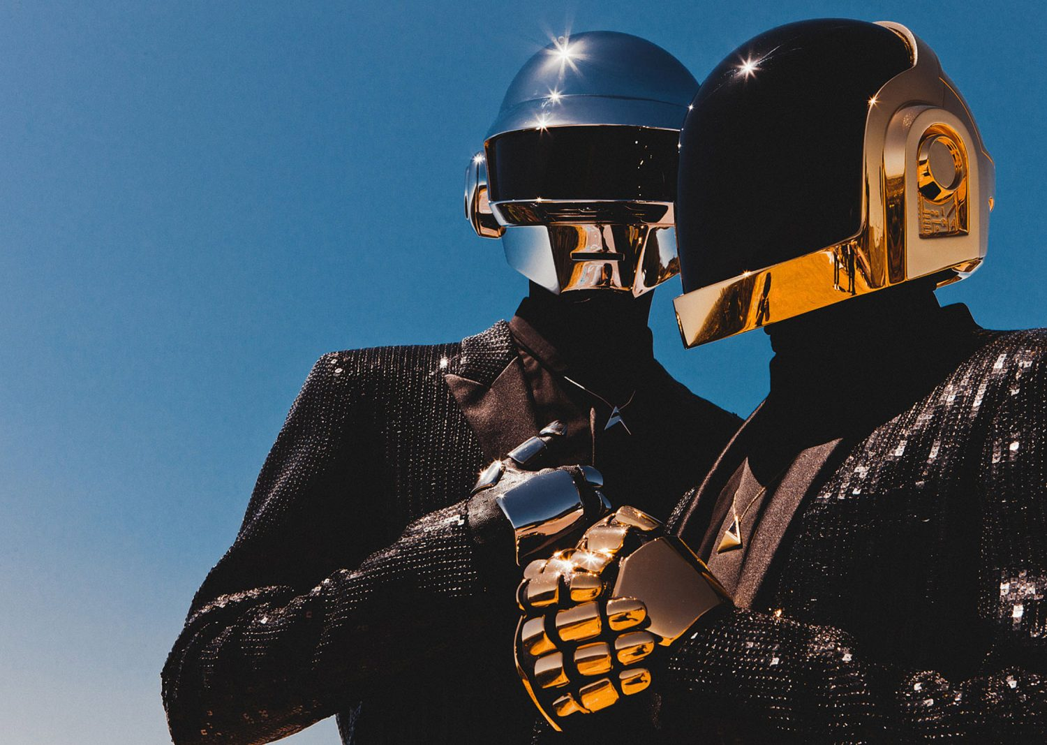 French electronic music duo Daft Punk random access memories