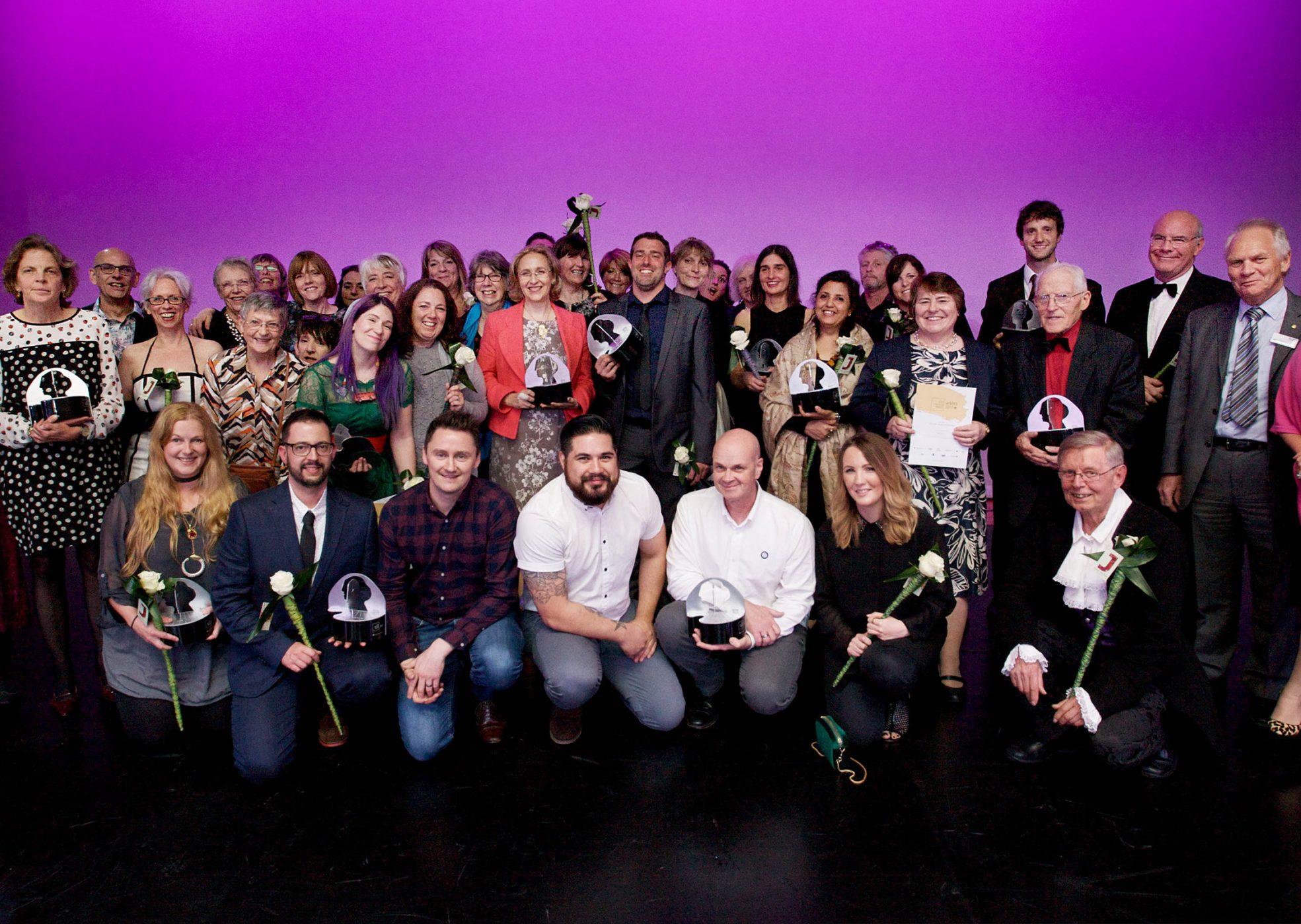 Group Photo At The Kent Creative Awards