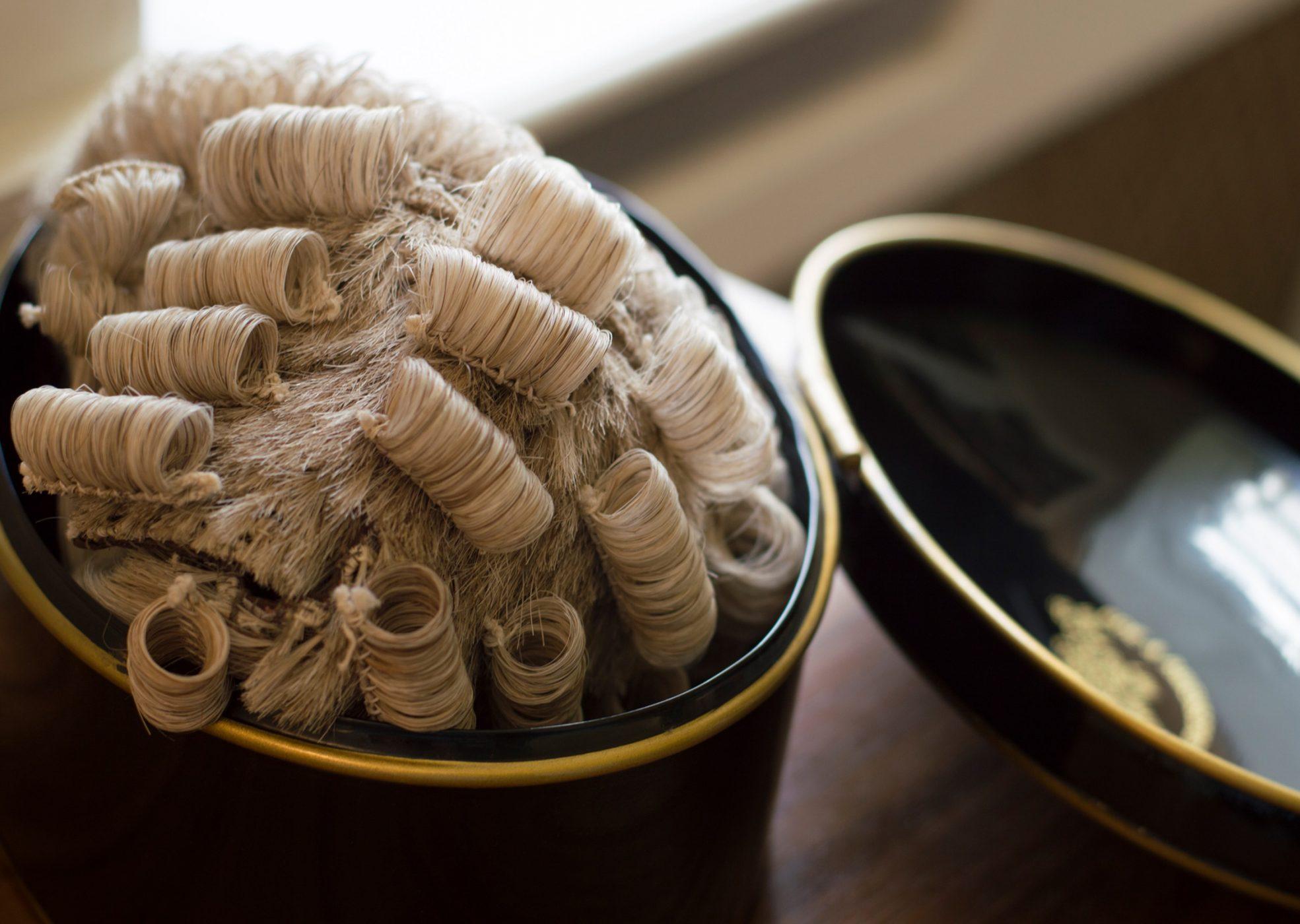 Barrister Wig, Judge Wig & Lawyer Wig