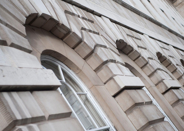 Building architecture facade