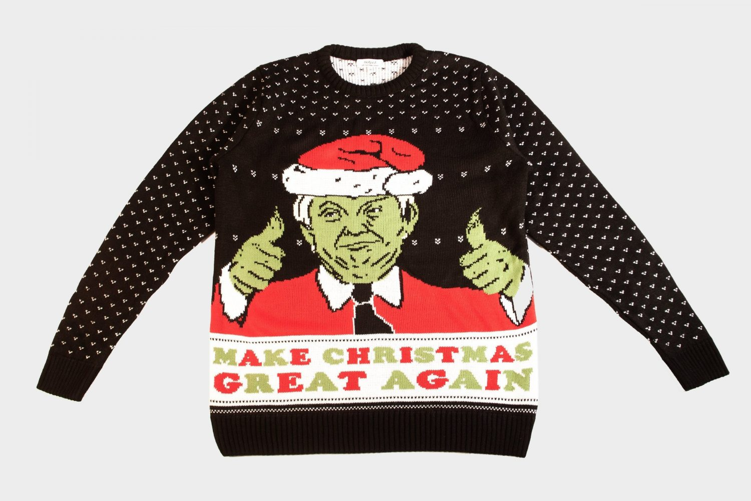 NotJust Trump Christmas Jumper