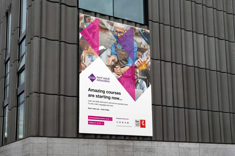 KAE billboard advert